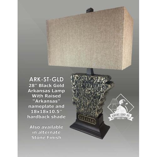 Arkansas Gold Lamp