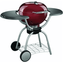 One-Touch Platinum Charcoal Grill (Brick Red)