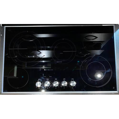 """JennAir JEC3536HS  Lustre Stainless 36"""" Electric Radiant Cooktop"""