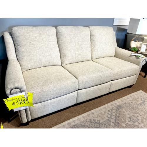 Bassett Full Power Reclining Sofa