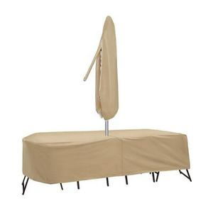 """Pci Protective Covers By Adco - 60"""" - 66"""" Oval/Rectangle Table With 6 Chairs"""