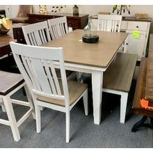 "6 Piece ""Beach House"" Dining Set"