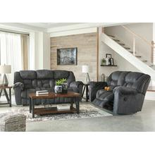 Capehorn- Granite Reclining Sofa and Loveseat