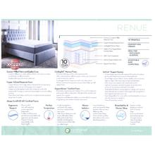 "Queen 14"" Copper Infused Gel Memory Foam Mattress"