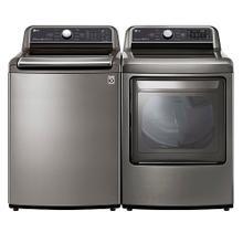LG Top Load Agitator Laundry Pair Package