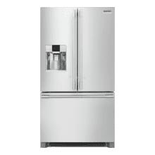 See Details - Frigidaire Professional 21.6 Cu. Ft. French Door Counter-Depth Refrigerator Model: AFPBC2278UF