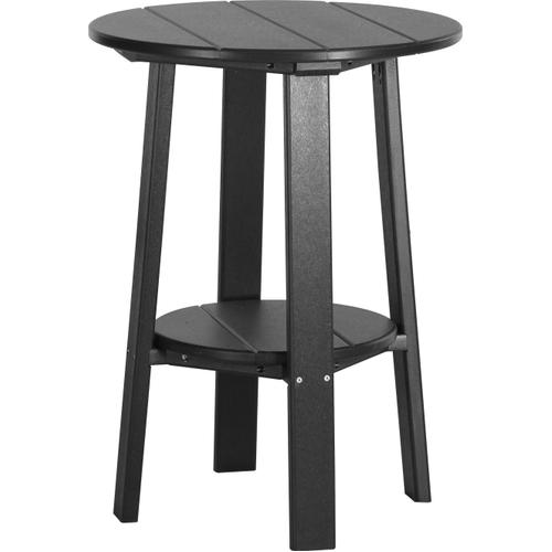 "Deluxe End Table 28"" Black"