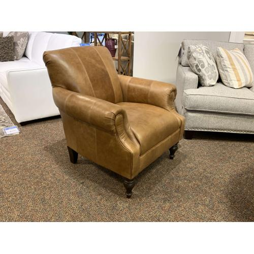 Leather Arm Chair Style #8960L40