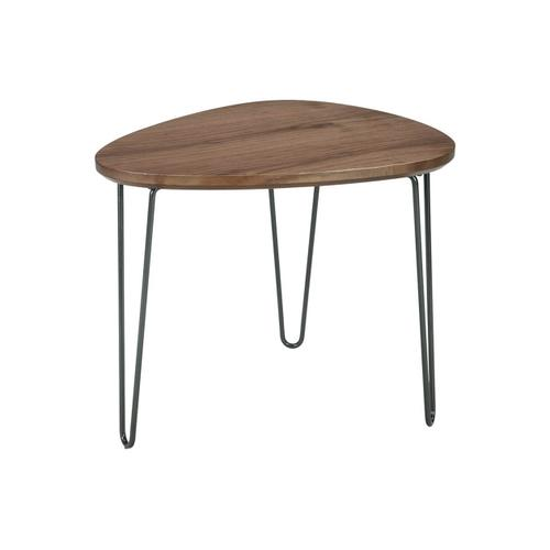 Signature Design By Ashley - Courager Triangle End Table