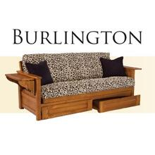 Solid Oak Futon Frame - Burlington