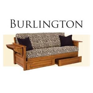 Solid Oak Futon Frame - Burlington