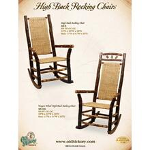 High Back Rocking Chairs