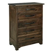 See Details - Farmhouse 5 Drawer Chest