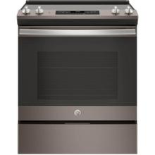 GE 5.3CF Slate Electric Smooth Top with Self Clean