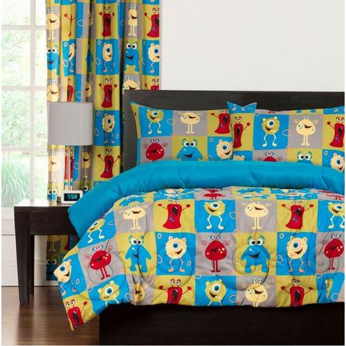 """Monster Friends"" Crayola Comforter Sets Twin"