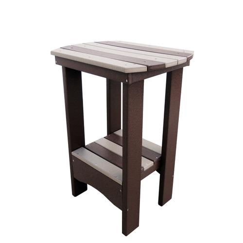 """31"""" High Oval End Table"""