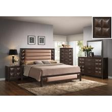 Generation Trade Furniture Rubix Beige 115500 Bedroom set Houston Texas USA Aztec Furniture
