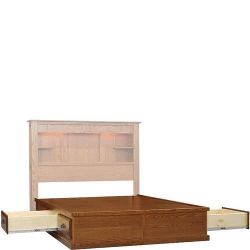 Wolfcraft Furniture - Summit 6 Drawer Foundation Twin