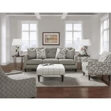 Sofa Stone Grey and Windowpane Chalk Accents