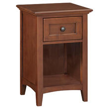 GAC 1Drawer McKenzie Nightstand Cherry Finish