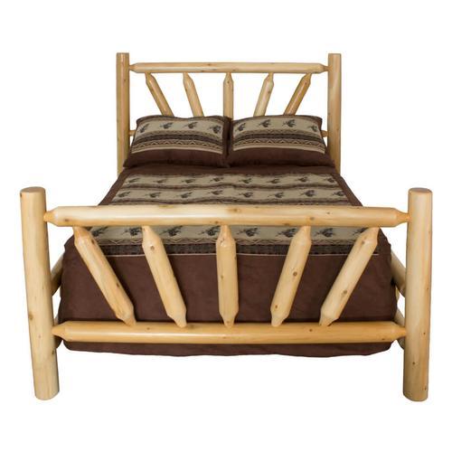 W252 King Fan Bed