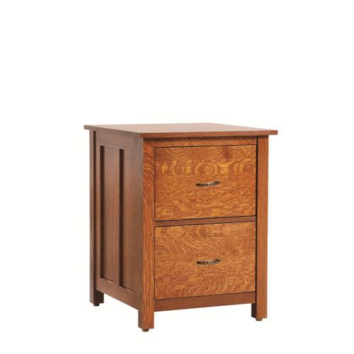 Coventry Mission 2 Drawer File Cabinet