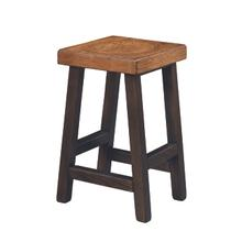 "24"" Farmstead Wood Bar Stool"