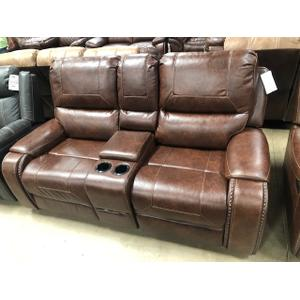 Astro Furniture - Rocking and Reclining Love seat with Console