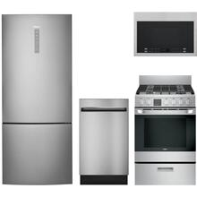 See Details - 4 Piece Compact Kitchen with Gas or Electric Range