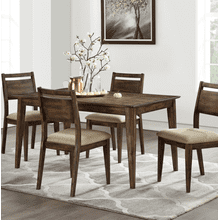 5 Piece Set (Leg Table and 4 Chairs)