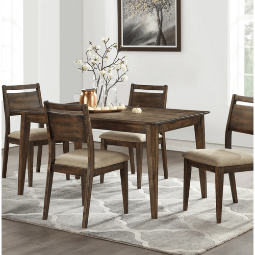 Winners Only - 5 Piece Set (Leg Table and 4 Chairs)