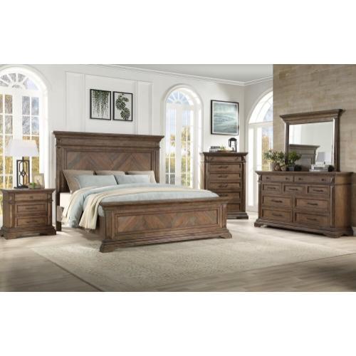 B658kbedroomset In By New Classic Furniture In Vestal Ny 4 Piece King Bedroom Set