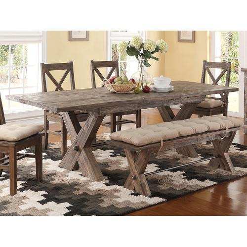 Tuscany Park Table, 4 Chairs & Bench