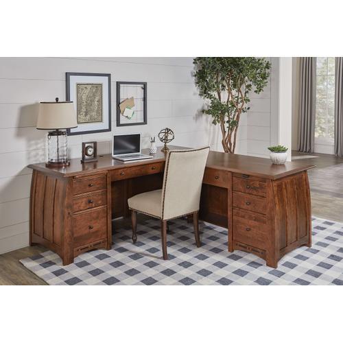 Amish Craftsman - Boulder Creek L Desk