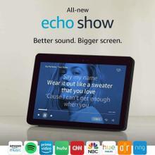 Echo Show 2nd Gen Smart Display Charcoal