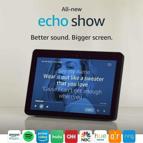 Echo Show 2nd Gen Smart Display Charcoal