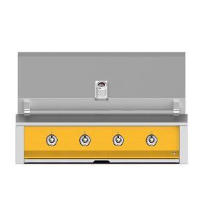 "Hestan - Aspire By Hestan 42"" Built-In U-Burner and Sear Grill NG Yellow"