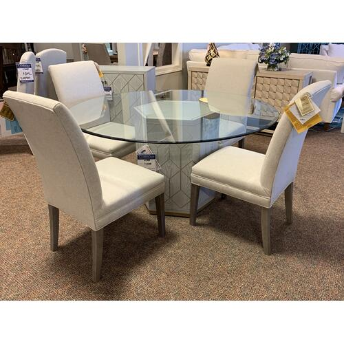 Perrine Server, Dining Table & Cabinet