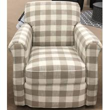 Mabel Swivel Chair - Dove