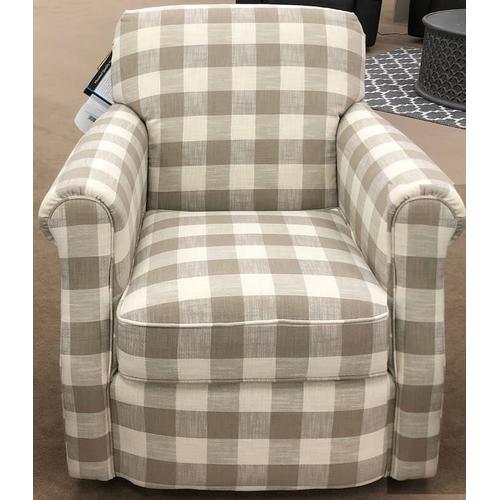 Flexsteel - Mabel Swivel Chair - Dove