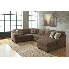 View Product - 3 PIECE SECTIONAL W/ RSF CHAISE