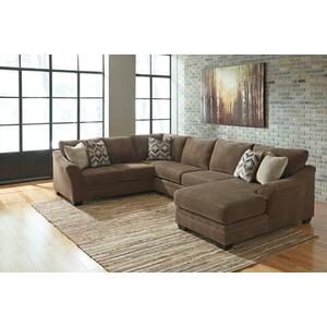 3 PIECE SECTIONAL W/ RSF CHAISE