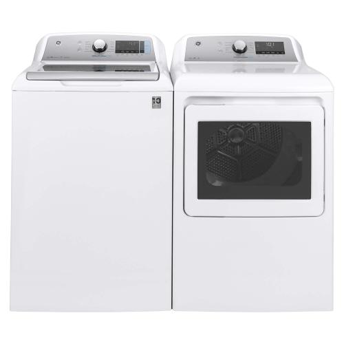 GE High Efficiency Washer & Dryer Pair with Smart Dispense