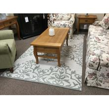 "Ashley ""Bafferts"" Ivory/Green R400442 Area Rug 61""W-84""L"