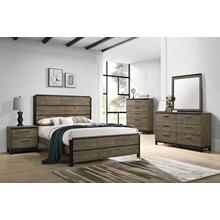 1065 Uptown 7PC Bedroom Set (QnBed, D, M, C, N)