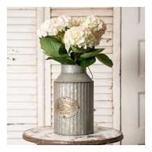 See Details - Flowers and Plants Can with Handle