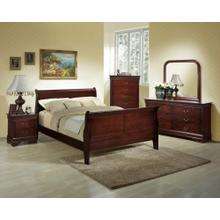 5933  Little Louie Sleigh Bed Group