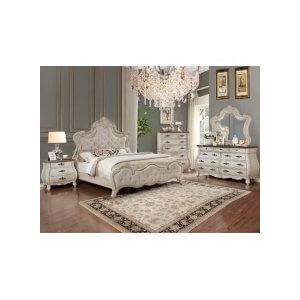 Ashford Kg Bed, Dresser, Mirror, Chest and Nightstand