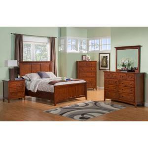 Flagstaff Queen Storage Bed
