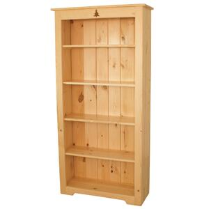 BW578  6' Bookcase with Tree Cutout